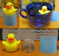 Floating 'Rubber Duck' Novelty 1 Cup Tea Infuser Yellow